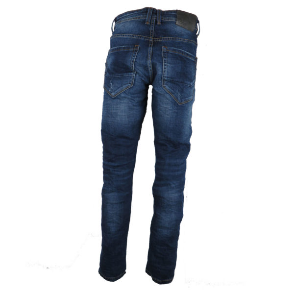 PRIVATO X126 Ανδρικό Παντελόνι Μπλε 4