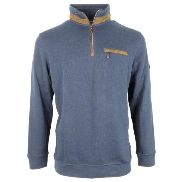 PRE END 22-100258 7050 Ανδρική Μπλούζα Μπλε 3