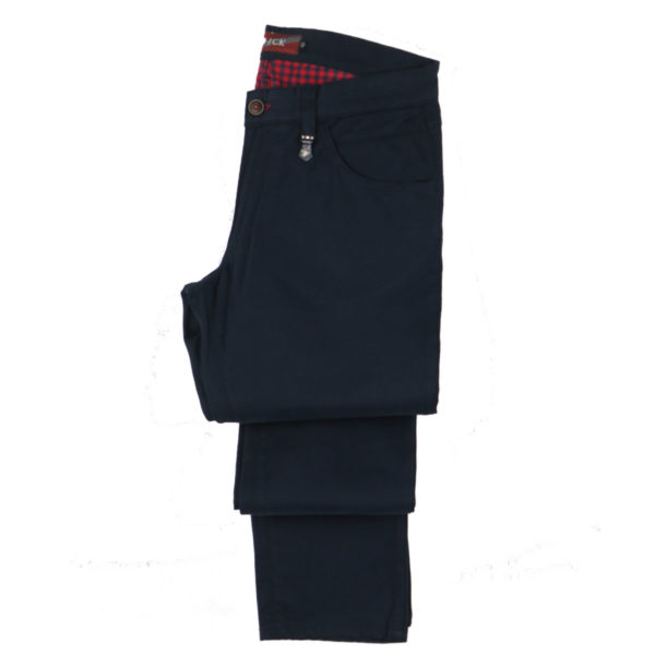 HI JACK A2050 Ανδρικό Παντελόνι Μπλε 3