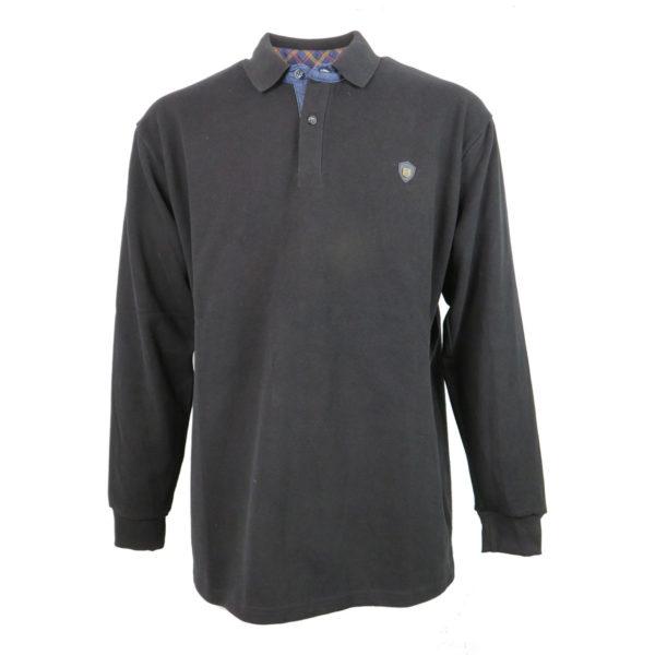 EVERBEST CWX20127 Ανδρική Μπλούζα Μαύρη 3