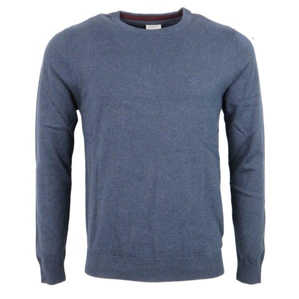 GNIOUS 21-300186 7550 Ανδρική Μπλούζα Μπλε Mix 3