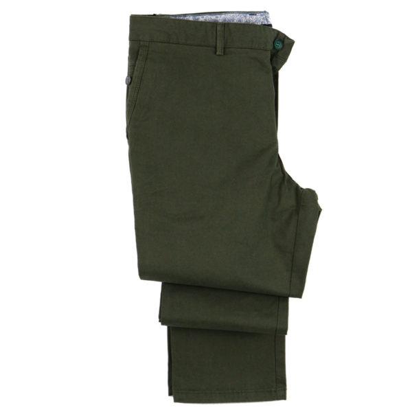 ENDESON 400 Ανδρικό Παντελόνι Χακί 3