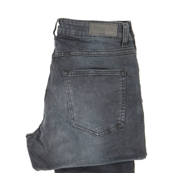 GNIOUS 14-300322 Ανδρικό Παντελόνι Μαύρο 3