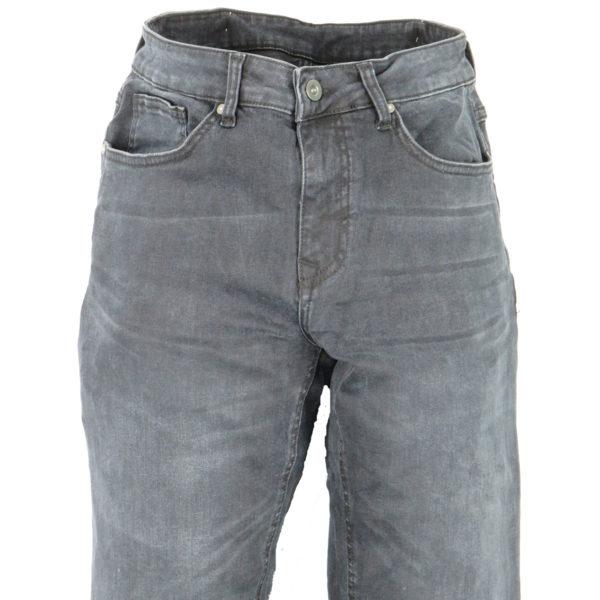 GNIOUS 14-300322 Ανδρικό Παντελόνι Μαύρο 4