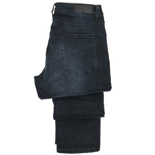 GNIOUS 14-300322 Ανδρικό Παντελόνι Μαύρο 5