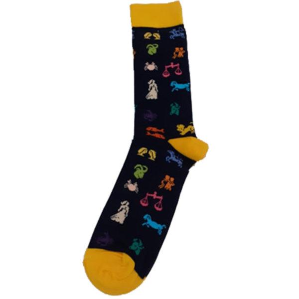 PRIVATO Ζώδια Ανδρική Κάλτσα Μπλε 3