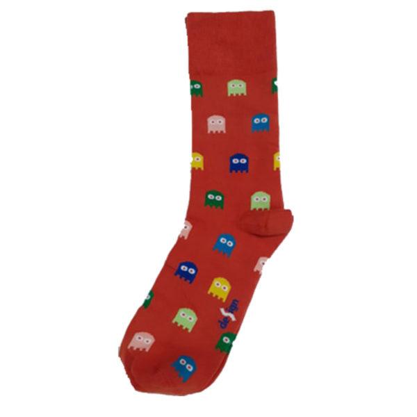 PRIVATO Pacman Ανδρική Κάλτσα Πορτοκαλί 3