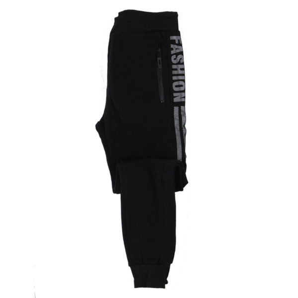 PRIVATO XSP297 Ανδρικό Παντελόνι Μαύρο 8