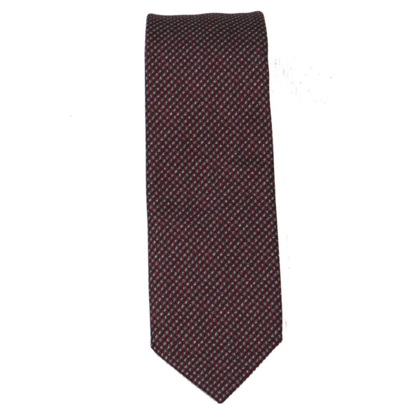 Nino Venturi  4 Ανδρική Γραβάτα Μπορντό 3