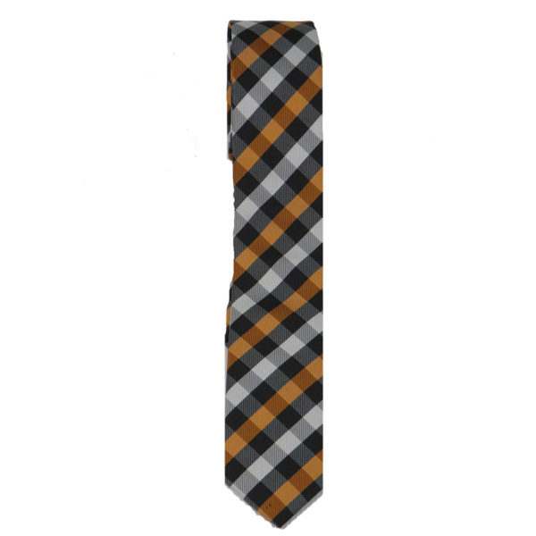 STEFANO & MARIO 15 Ανδρική Γραβάτα Μπεζ 3