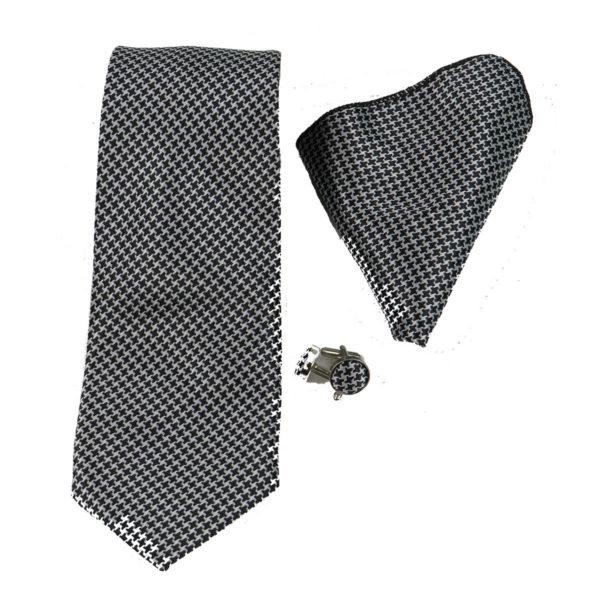 PRIVATO 23 Ανδρική Γραβάτα Μαύρη 3