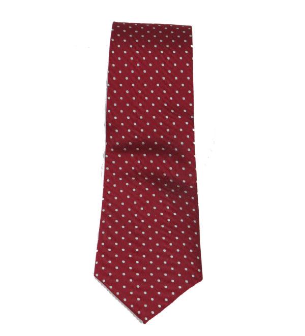 PRIVATO 112 Ανδρική Γραβάτα Μπορντό 5