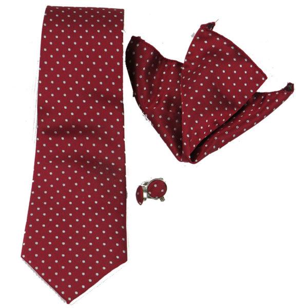 PRIVATO 112 Ανδρική Γραβάτα Μπορντό 3