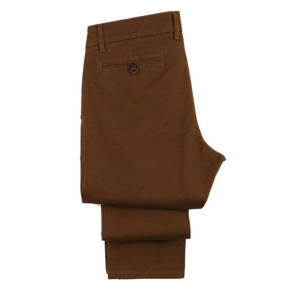 HI JACK B2030 Ανδρικό Παντελόνι Κάμελ 4