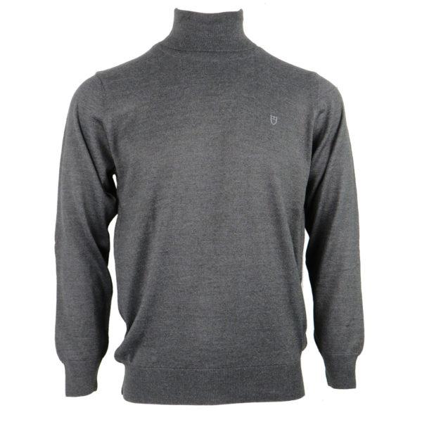 UNIQUE 160-1 Ανδρική Μπλούζα Γκρι Ζιβαγκο 3