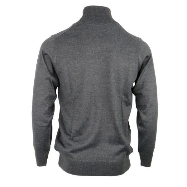 UNIQUE 160-1 Ανδρική Μπλούζα Γκρι Ζιβαγκο 4