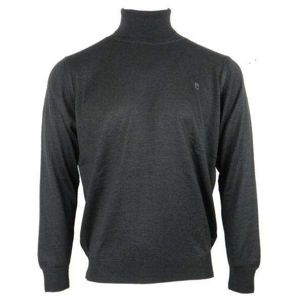 UNIQUE 160 Ανδρική Μπλούζα Μαύρη Ζιβαγκο 3
