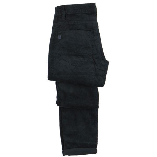 TIFFOSI 10029520  790 Ανδρικό Παντελόνι Κοτλέ Μπλε 5