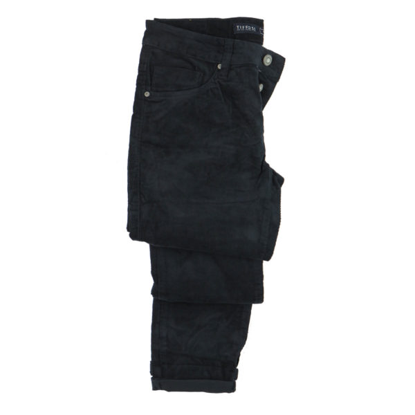 TIFFOSI 10029520  790 Ανδρικό Παντελόνι Κοτλέ Μπλε 6