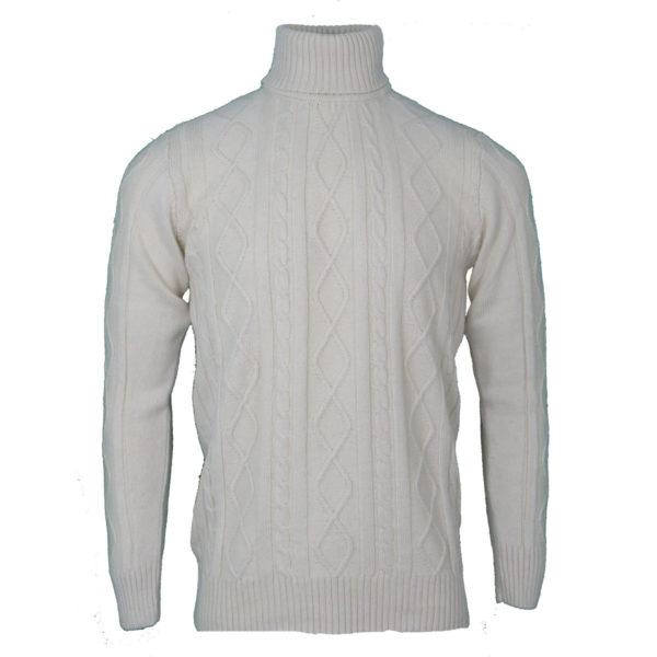 NEW YORK TAILORS CLEMENT 016.16 Ανδρική Μπλούζα Εκρού 3
