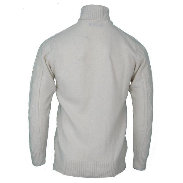 NEW YORK TAILORS CLEMENT 016.16 Ανδρική Μπλούζα Εκρού 4