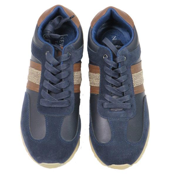 NEW YORK TAILORS 034.16 JENARO Ανδρικά Παπούτσια Μπλε 7