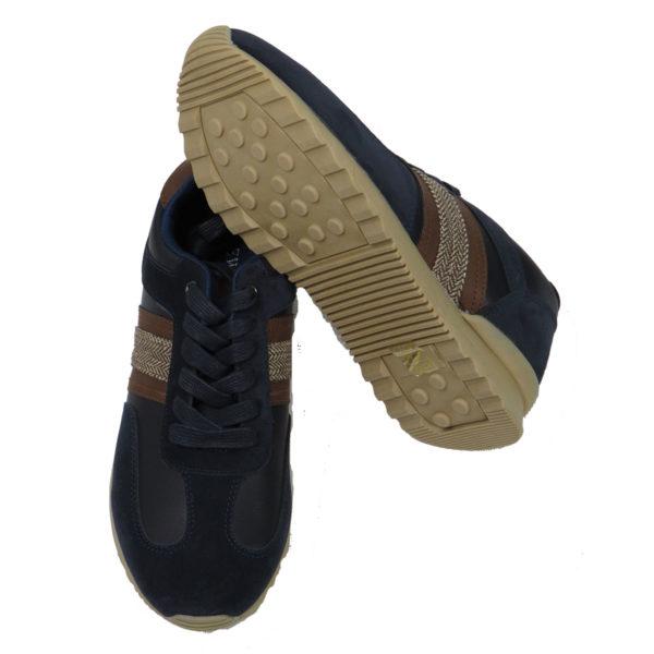 NEW YORK TAILORS 034.16 JENARO Ανδρικά Παπούτσια Μπλε 4