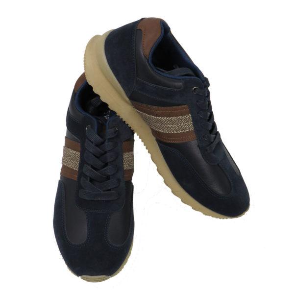 NEW YORK TAILORS 034.16 JENARO Ανδρικά Παπούτσια Μπλε 5