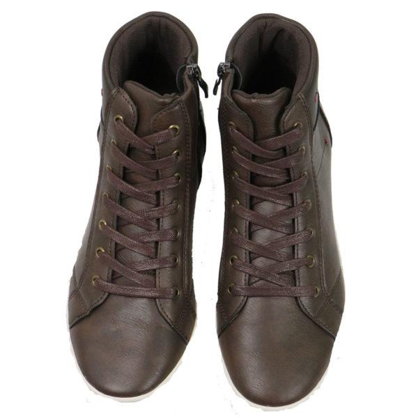 NEW YORK TAILORS 034.16 IZAR Ανδρικά Παπούτσια Καφέ 6