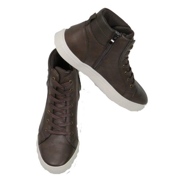 NEW YORK TAILORS 034.16 IZAR Ανδρικά Παπούτσια Καφέ 5
