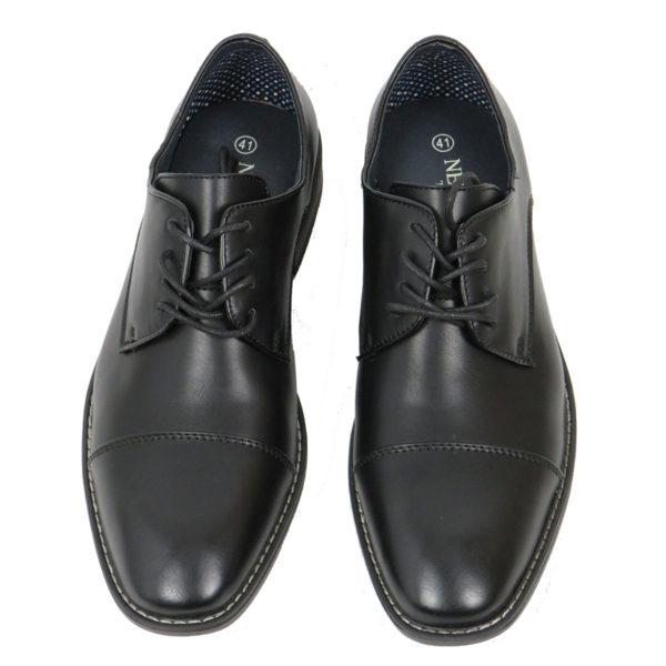 NEW YORK TAILORS 034.16.NOLAN Ανδρικό Παπούτσι Μαύρο 6