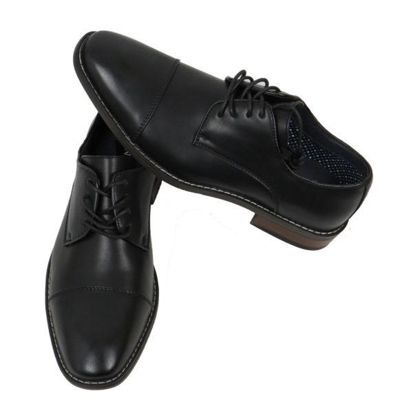 NEW YORK TAILORS 034.16.NOLAN Ανδρικό Παπούτσι Μαύρο 4