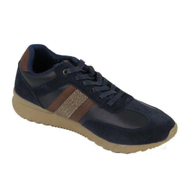 NEW YORK TAILORS 034.16 JENARO Ανδρικά Παπούτσια Μπλε 3
