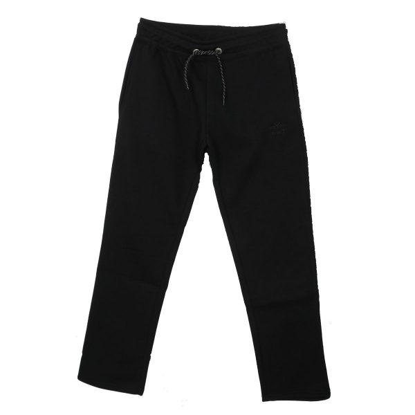 EVERBEST 20111 Ανδρικό Παντελόνι  Φόρμας Μαύρο 3