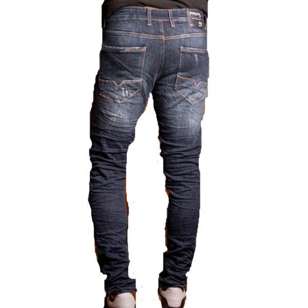 PROFIL 2044 Ανδρικό Παντελόνι Τζίν Μπλέ 5