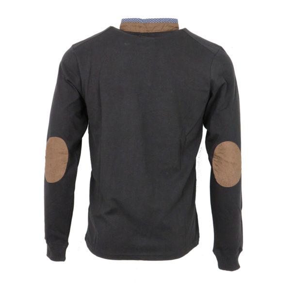 Clever CF -19100 Ανδρικό Μπλουζάκι Μαύρο Πόλο 6