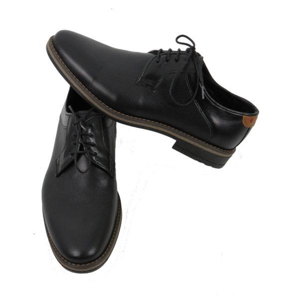 MAINSTONE 0600.01 Ανδρικά Παπούτσια Μαύρα 4