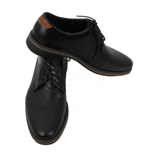 MAINSTONE 0600.01 Ανδρικά Παπούτσια Μαύρα 6