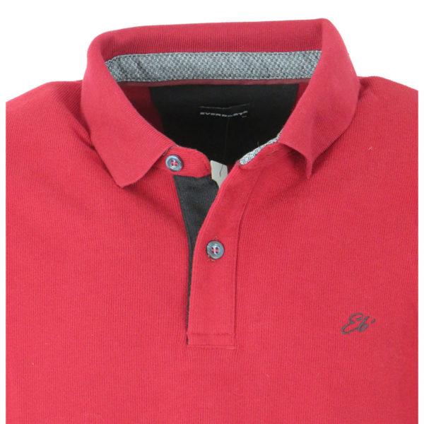 Everbest 200022RW Ανδρικό Μπλουζάκι Σκούρο Κόκκινο 4