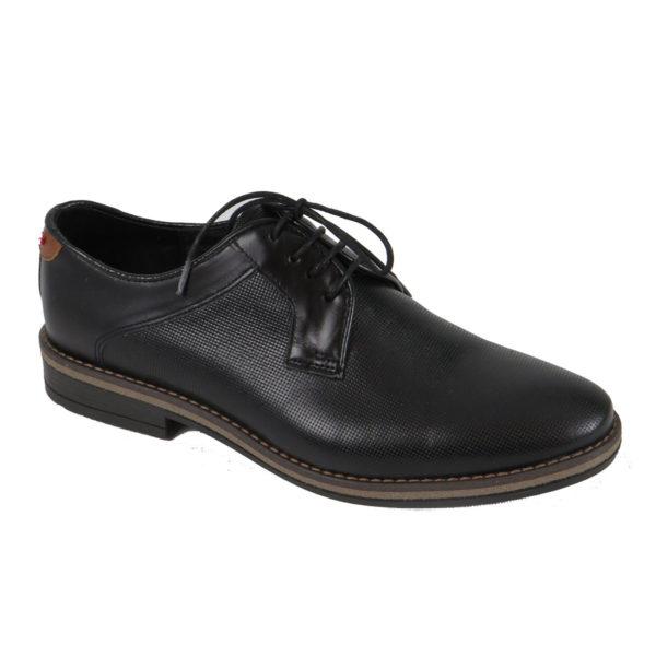 MAINSTONE 0600.01 Ανδρικά Παπούτσια Μαύρα 3
