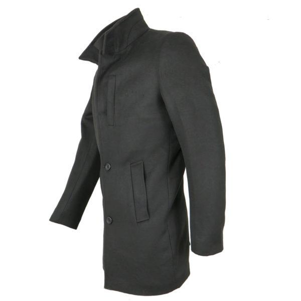 Endeson 005 Ανδρικό Παλτό Μαύρο 4