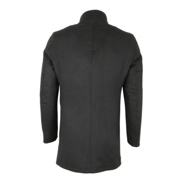 Endeson 005 Ανδρικό Παλτό Μαύρο 7