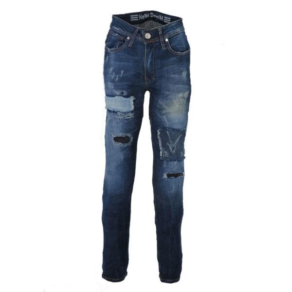 NEW DENIM 11273 Ανδρικό Παντελόνι Μπλε 3