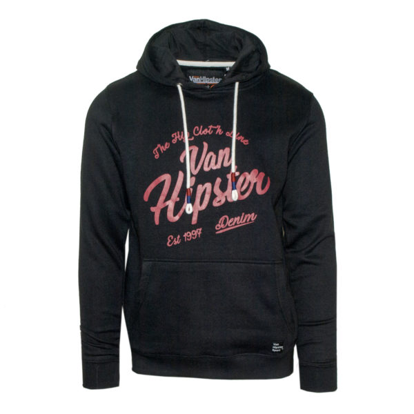 Van Hipster 71690 Ανδρική Μπλούζα Μαύρη 3