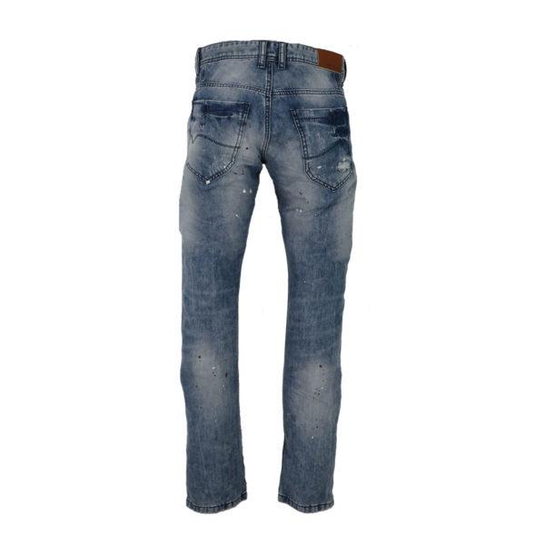 PRIVATO 96258 Ανδρικό Παντελόνι Μπλε 4