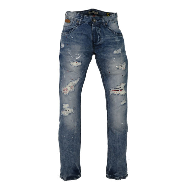PRIVATO 96258 Ανδρικό Παντελόνι Μπλε 3