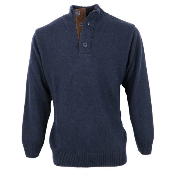 Machete 5912 Ανδρική Μπλούζα Μπλέ 3