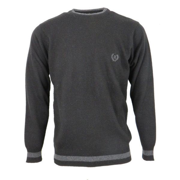 Cozy 5015 Ανδρική Μπλούζα Μαύρη 3
