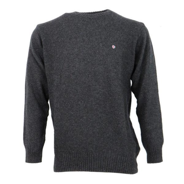 Machete 2428 Ανδρική Μπλούζα Γκρί Σκούρο 3