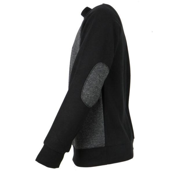 Everbest CW20304 Ανδρική Μπλούζα Μαύρο 5